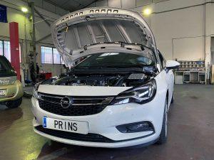 Opel Astra 2020 1400T. Inyeccion directa con GLP Prins VSIdi 3.0